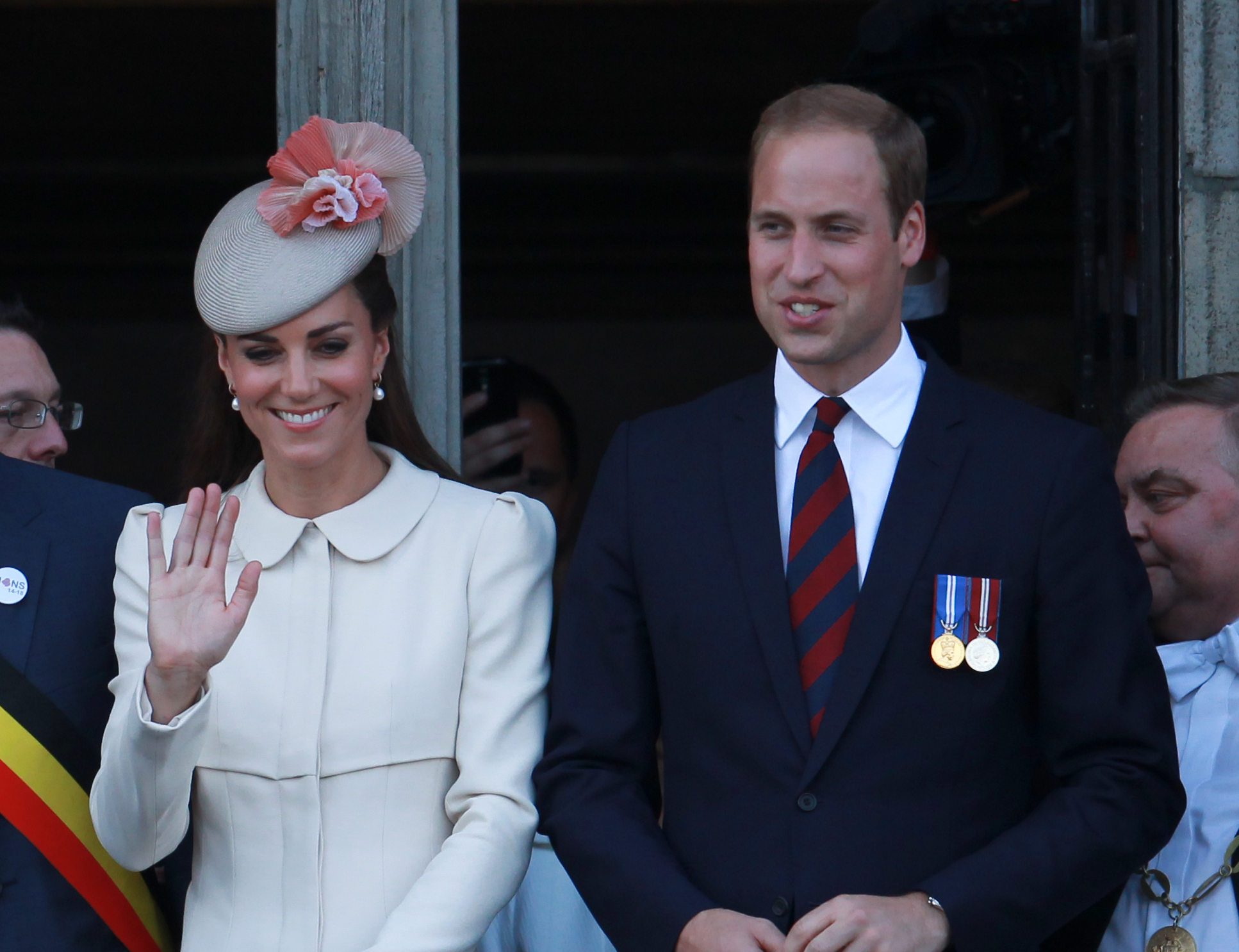 Catherine Duchess of Cambridge and Prince William; Image: WENN