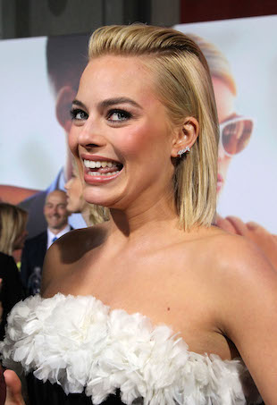 Margot Robbie Focus premiere