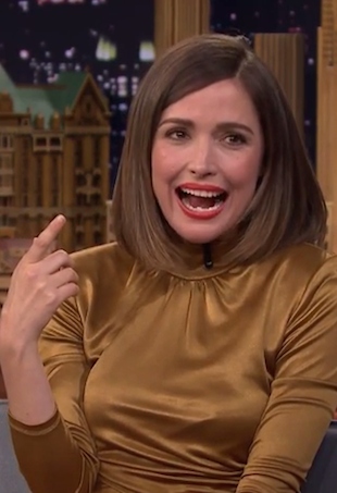Rose Byrne on the Tonight Show with Jimmy Fallon