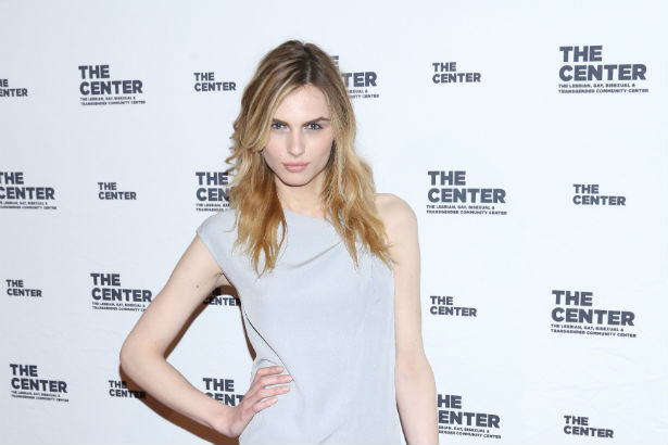 Andreja Pejic red carpet