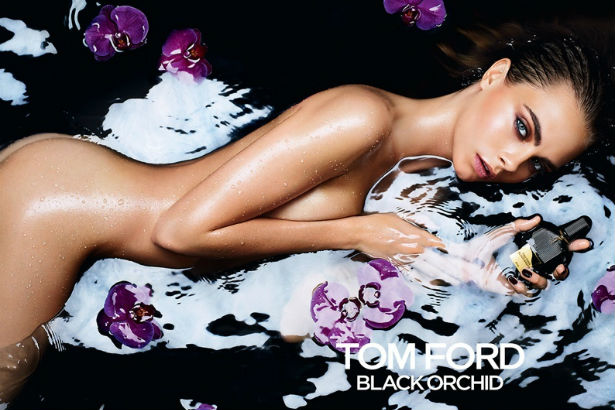 Tom Ford Black Orchid Cara Delevingne ad