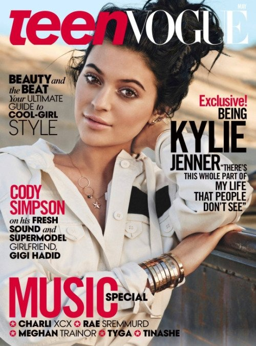 Teen Vogue May 2015 Kylie Jenner Giampaolo Sgura