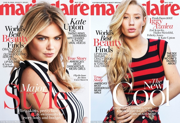 US Marie Claire May 2015 Five Covers by Dan Martensen