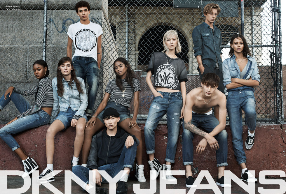 DKNY Jeans Spring 2015 Campaign