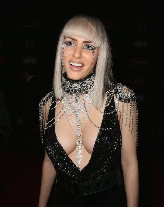 Gabi Grecko naked in Melbourne: Exhibitionist wanders the