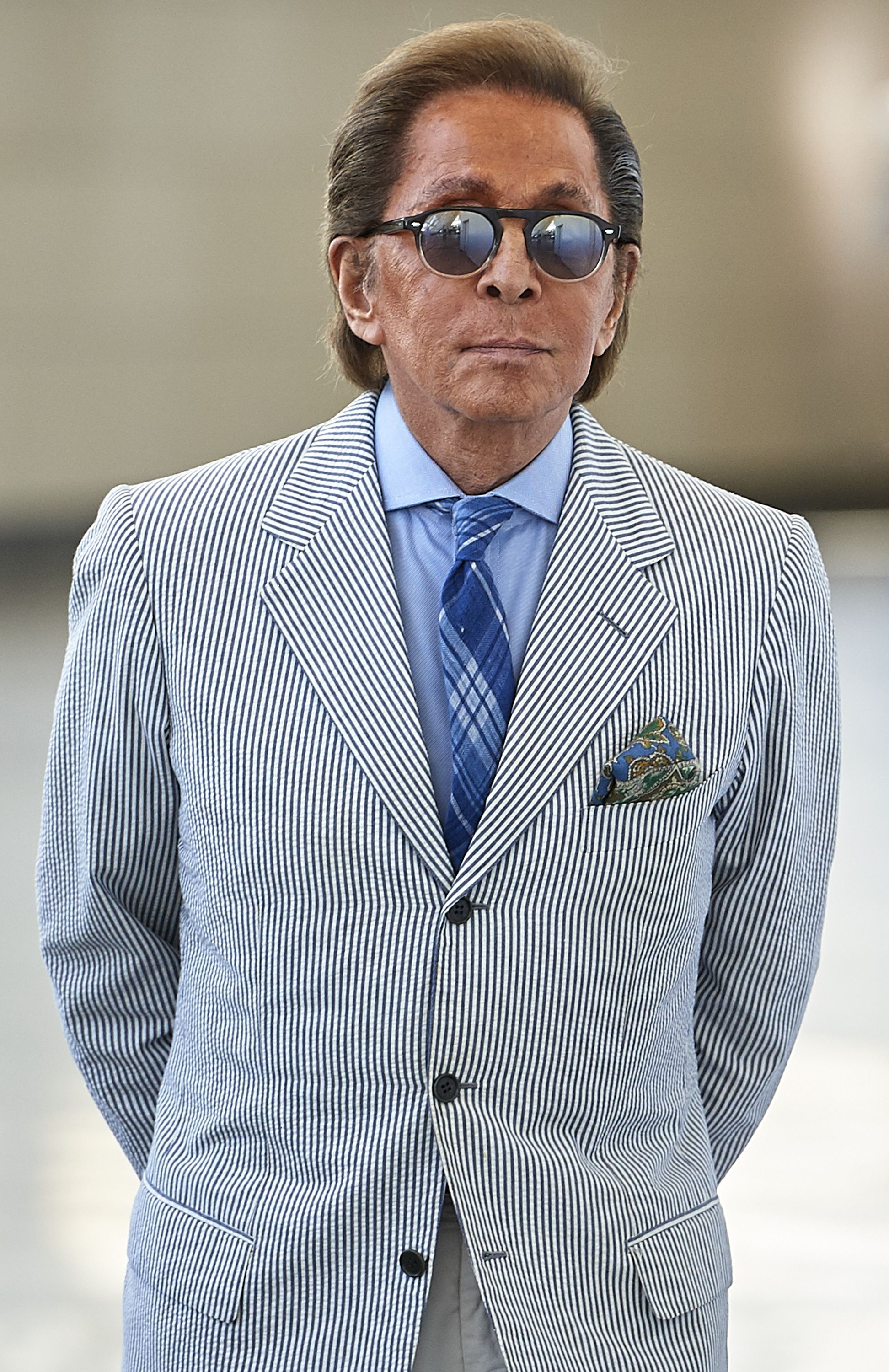 Valentino Garavani at the CHI Al Shaqab show