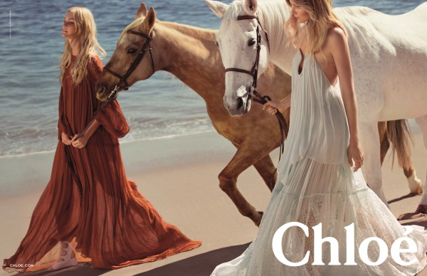 Chloe Spring 2015 Campaign
