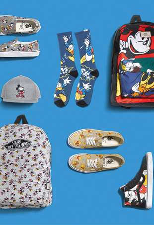 "Vans x Disney ""The Young at Heart"" Collection"