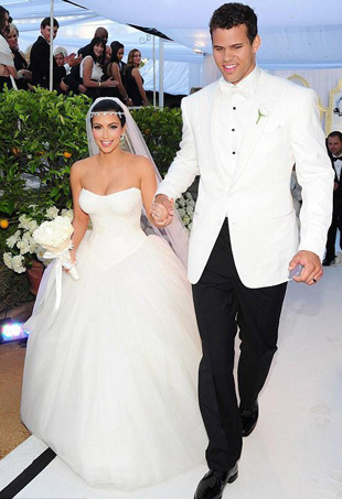Kim Kardashian and Kris Humphries Wedding