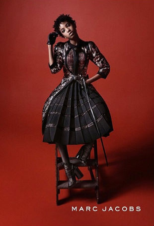 Willow Smith Marc Jacobs Fall 2015