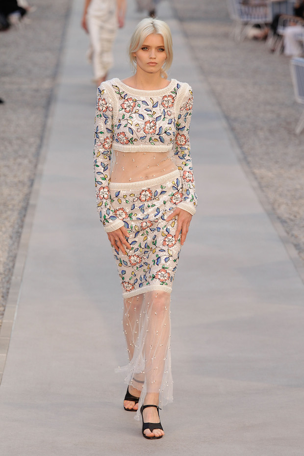 Abbey Lee walks Chanel