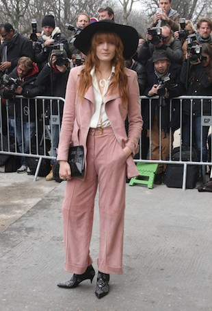 Florence Welch PFW