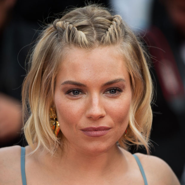 Sienna Miller Shows Us How To Grow Out Bangs Gracefully Thefashionspot