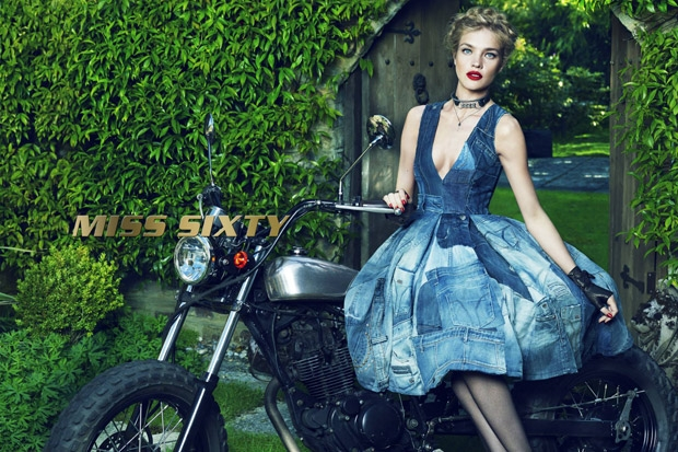 Miss Sixty Fall 2015 Ad Campaign Natalia Vodianova by Mert and Marcus