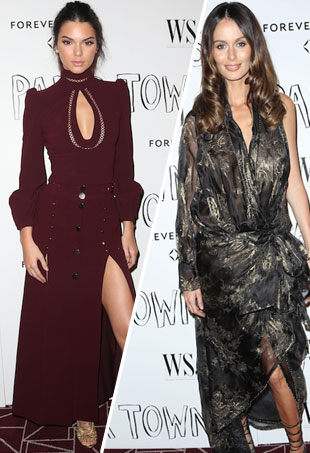 Kendall Jenner and Nicole Trunfio wearing Zimmermann
