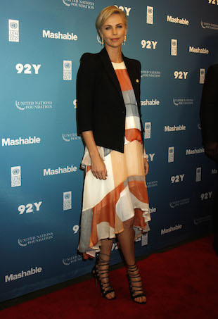 Charlize Theron wears Zimmermann