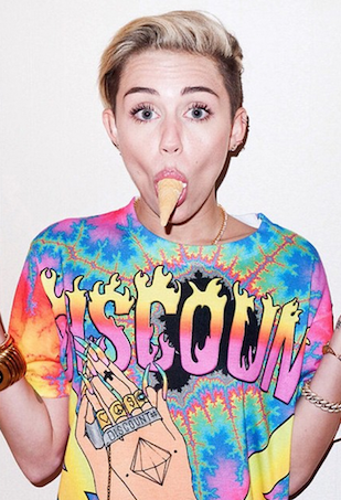 Miley Cyrus Terry Richardson shoot