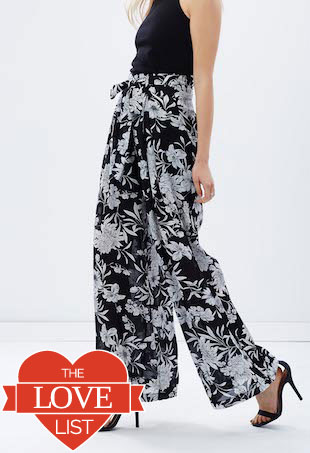 palazzo pant the love list