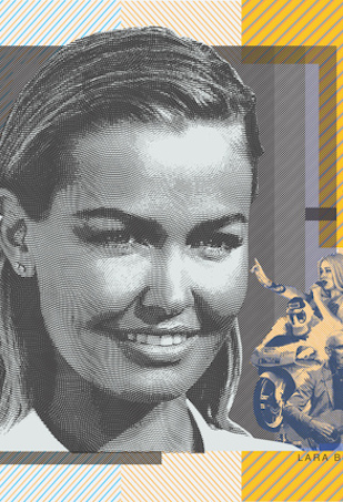 Lara Bingle 50 dollar note