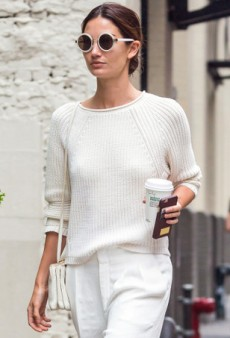 18 Celeb-Approved Ways to Dress Up a Fall Sweater