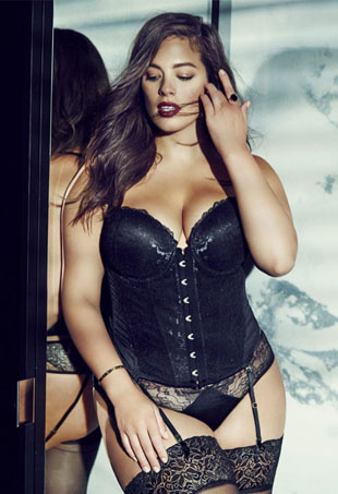 The Sexiest Plus-Size Lingerie Models