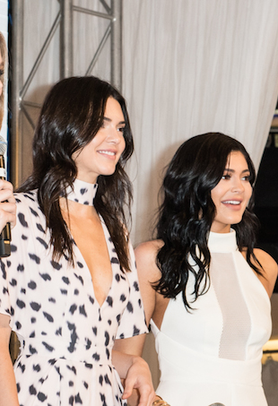 Kendall and Kylie Jenner in Sydney