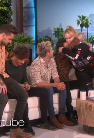 Rebel Wilson with One Direction