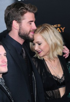 Jennifer Lawrence Admits to Hooking Up with Liam Hemsworth Off-Camera