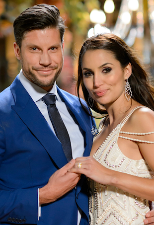 Sam Wood and Snezana Markoski