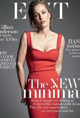 The Edit by Net-a-Porter January 14, 2016 Gillian Anderson by Nico
