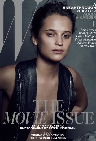 W February 2016 : The Movie Issue by Peter Lindbergh