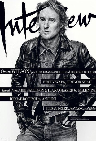 Interview February 2016 : Owen Wilson by Gregory Harris
