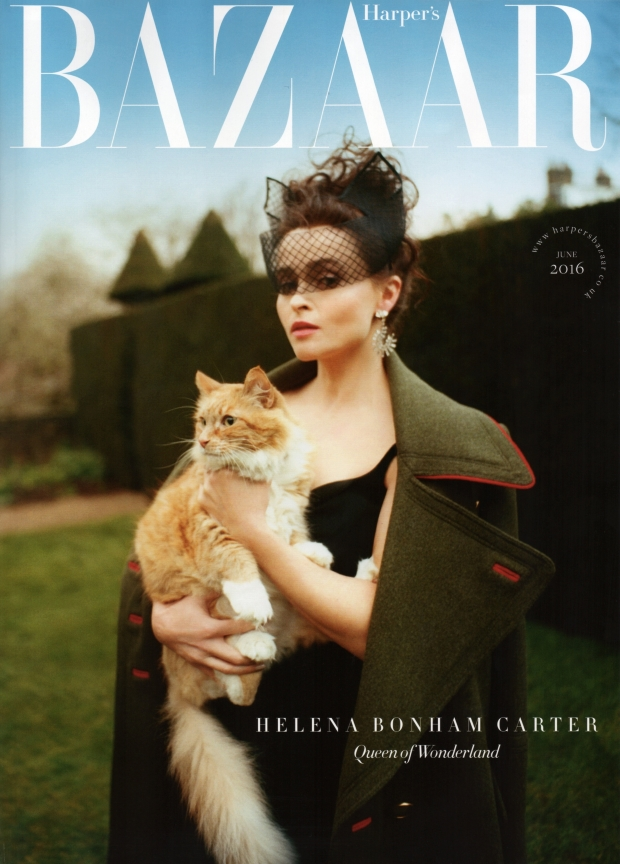 UK Harper's Bazaar June 2016 : Helena Bonham Carter by Tom Craig