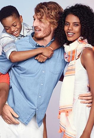 Old Navy Releases Ad Featuring Interracial Family