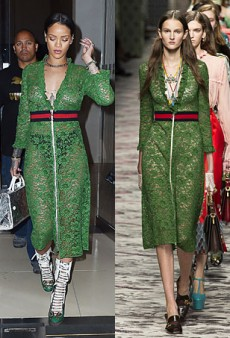 Runway to Real Life: Rihanna in Gucci, Emilia Clarke in Chloe and More (Forum Buzz)