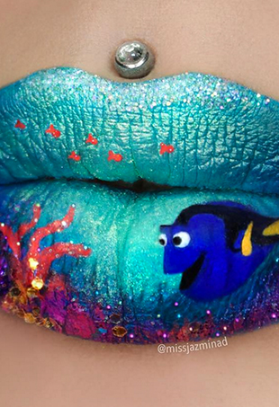 Sydney-based makeup artist Jazmina Daniel is taking Instagram by storm with her intricate lip artwork.
