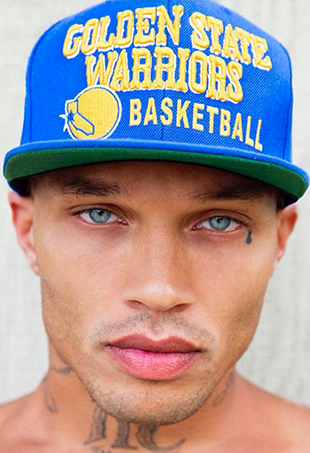 """Yesterday, White Cross Management shared Jeremy Meeks' first official headshot, with the caption, """"Our #warriors fan @jmeeksofficial ready for tipoff."""""""