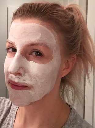 at-home facial