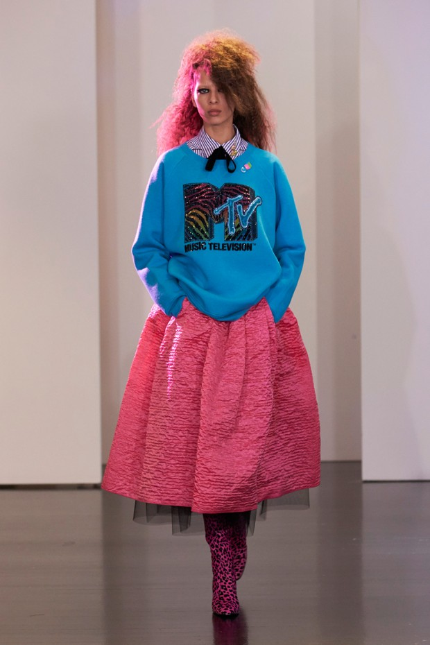80s fashion trends ran amok at Marc Jacobs Resort 2017.