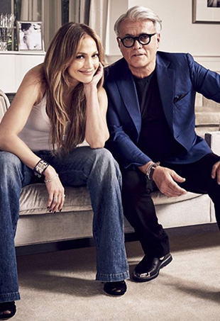 Today actress-singer-designer Jennifer Lopez announced her latest effort, a high-end footwear and accessories line in collaboration with Giuseppe Zanotti.