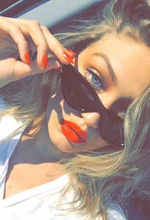Gigi Hadid wants women everywhere to know they have the right to defend themselves.