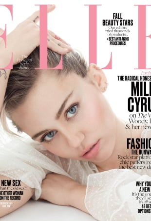US Elle October 2016 : Miley Cyrus by Terry Tsiolis