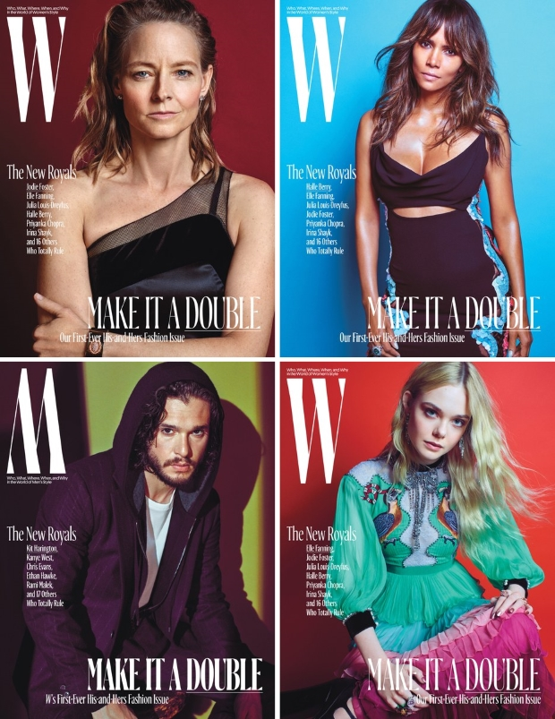 W October 2016 : The New Royals Issue by Mario Sorrenti