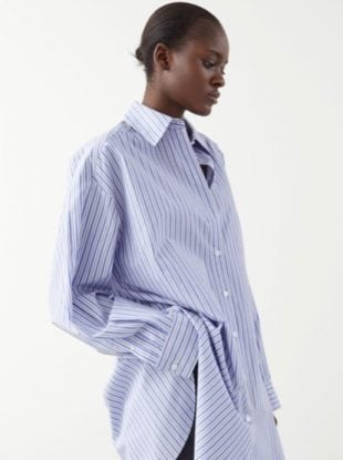 oversized button-down