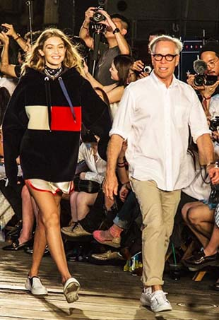 Tommy Hilfiger and Gigi Hadid have renewed their partnership for Spring 2017.