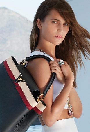 Louis Vuitton 'Spirit of Travel' F/W 2016.17 : Alicia Vikander by Patrick Demarchelier