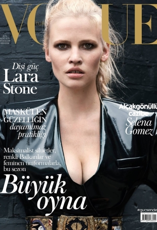 Vogue Turkey October 2016 : Lara Stone by Liz Collins