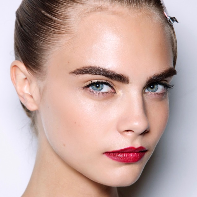 Cara Delevingne and her bold, dark brows