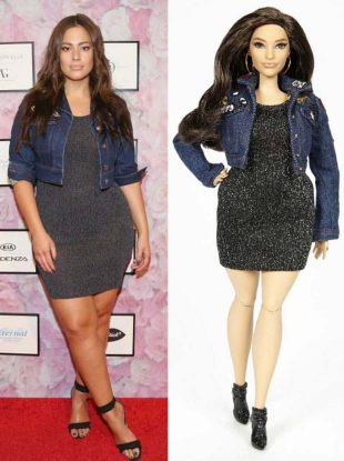Ashley Graham got Barbie-fied for Mattel's Sheroes collection.