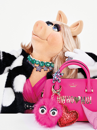 The Disney Miss Piggy Collection by Kate Spade New York drops December 1st.